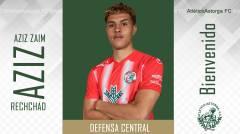 AZIZ ZAIM RECHCHAD, defensa central cedido con el Zamora F.C.