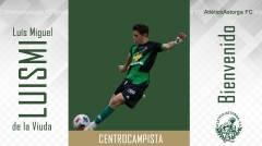 LUÍS MIGUEL DE LA VIUDA GUERRA, centrocampista procedente del Tordesillas C.F.