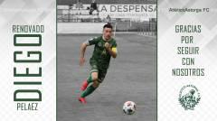 DIEGO PELAEZ, renueva con el Atlético Astorga.